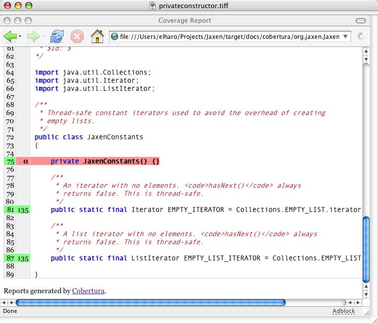 Measuring JUnit Code Coverage